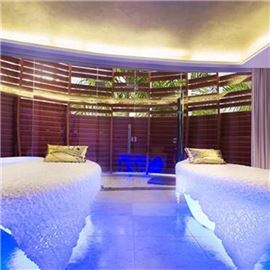 Two spa beds
